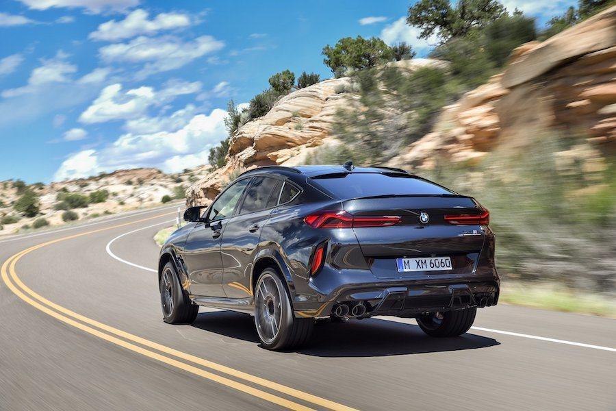 新世代BMW X6 M (F96)。 BMW提供