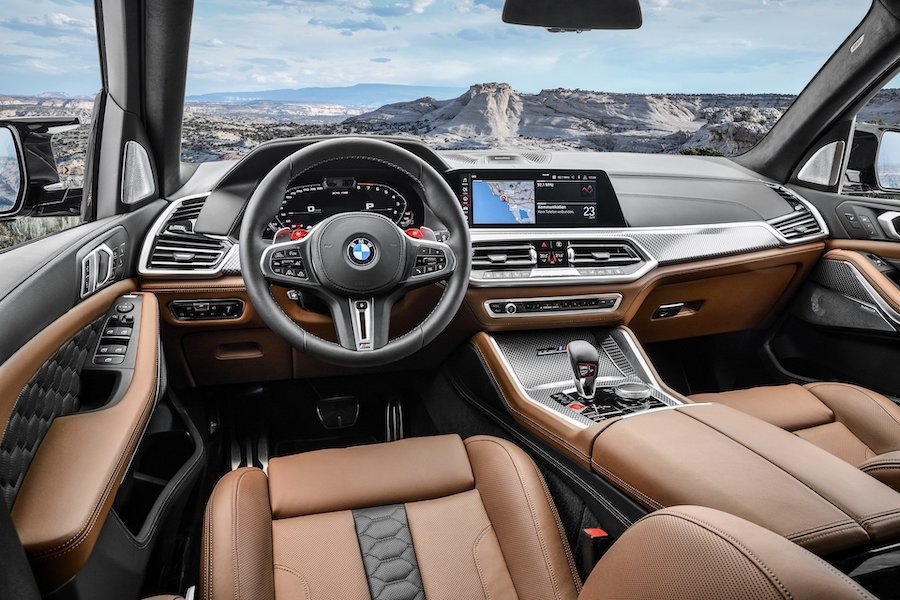 新世代BMW X5 M (F95) 內裝。 BMW提供
