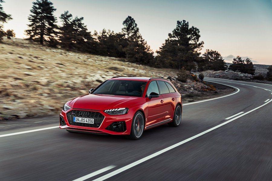 小改款Audi RS4 Avant。 Audi提供