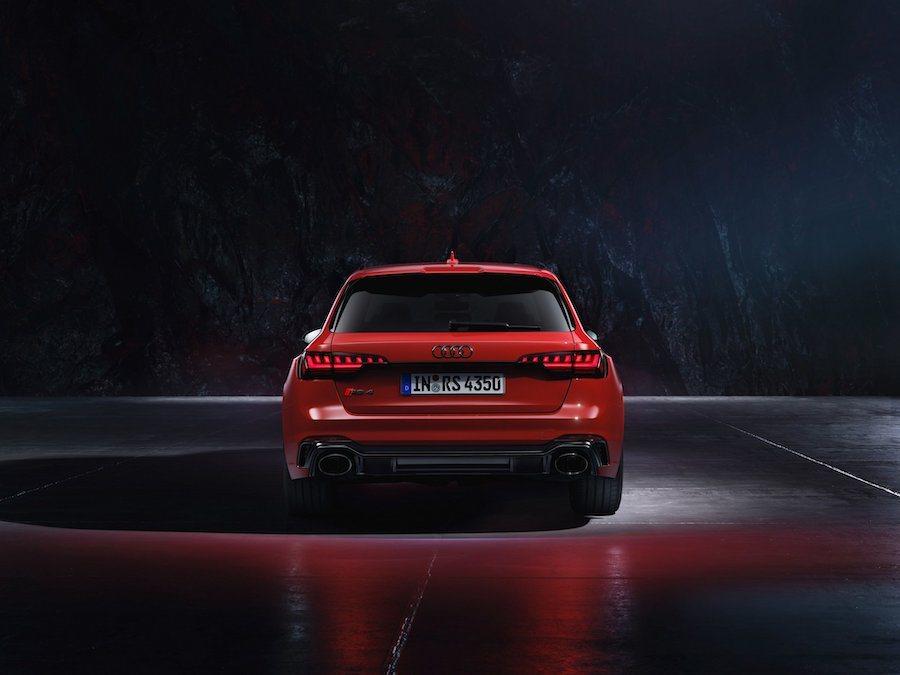 小改款Audi RS4 Avant售價為81,400歐元起。 Audi提供