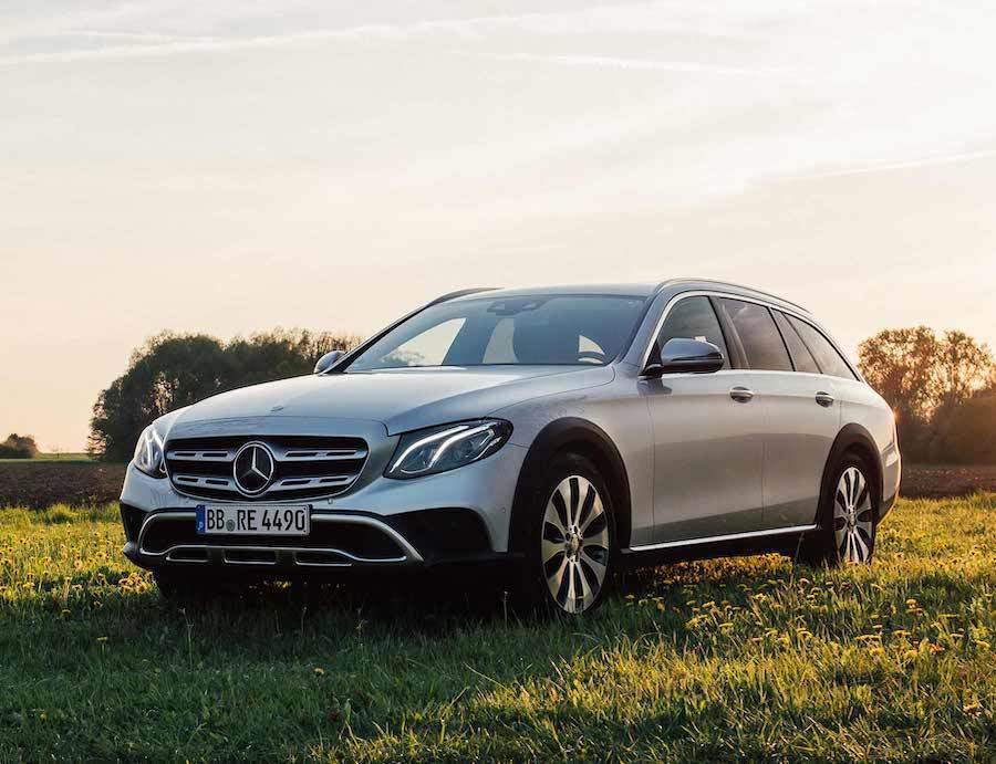 E-Class All-Terrain。 Mercedes-Benz提供