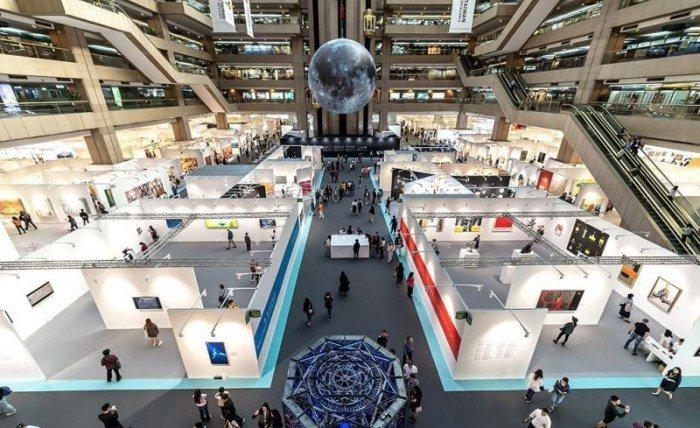 臺北國際藝術博覽會。 圖/交通部觀光局