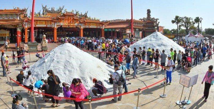 鯤鯓王平安鹽祭。 圖/交通部觀光局