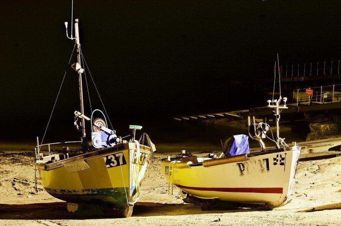 夜釣。 圖/Pixabay