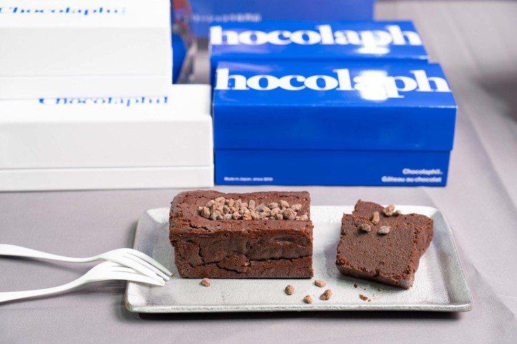 10/2開賣的「Chocolaphil巧克力磅蛋糕」,售價990元(條)。圖/B...