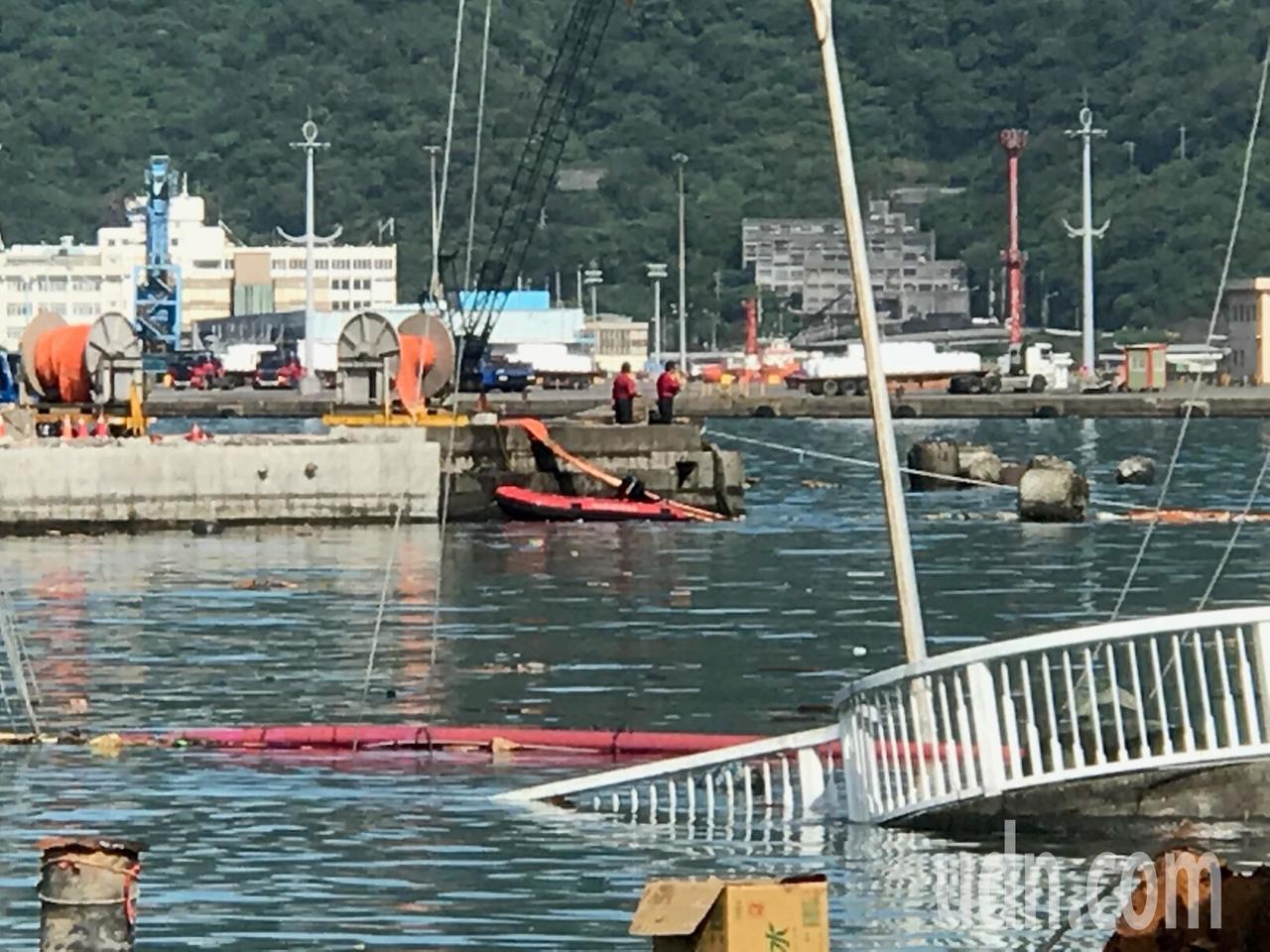 南方澳搜救找到第四名罹難者,剩2人待救。記者吳淑君攝影