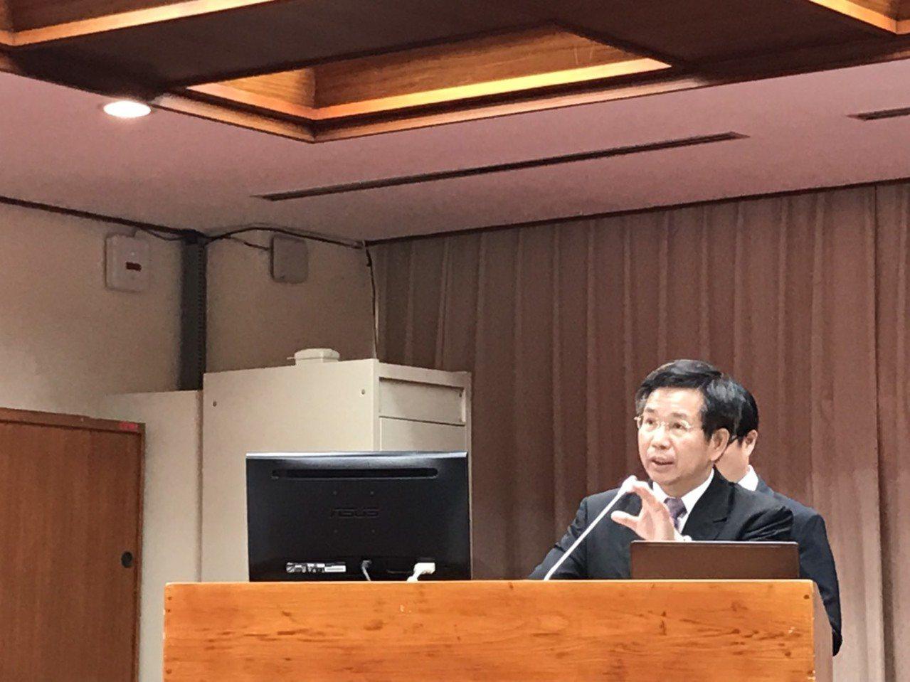 教育部長潘文忠表示,今年12月逐一公布教師法。記者潘乃欣/攝影