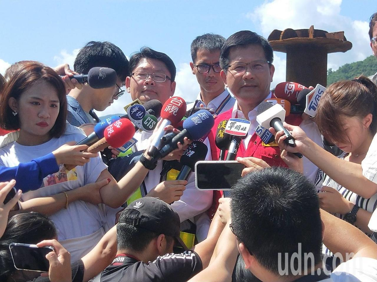林佳龍宣布:外籍罹難漁工每人賠償500萬元。記者游明煌/攝影