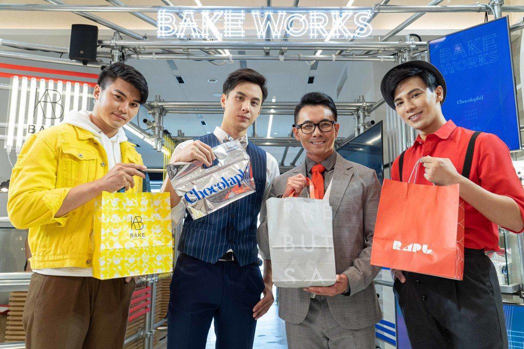 《BAKE WORKS》集結BAKE旗下四大人氣品牌,包含今年2月於自由之丘開幕...