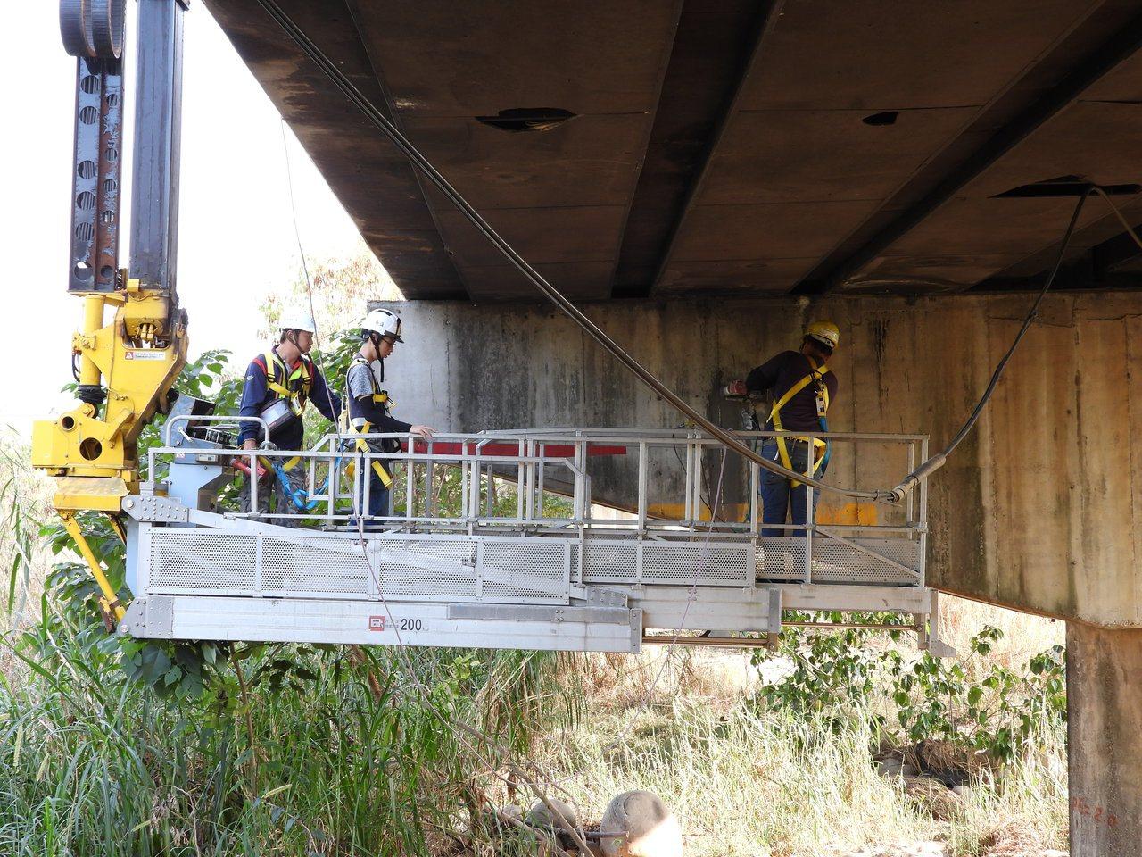 南方澳斷橋警惕 中市15座鋼索橋梁今天全面檢測