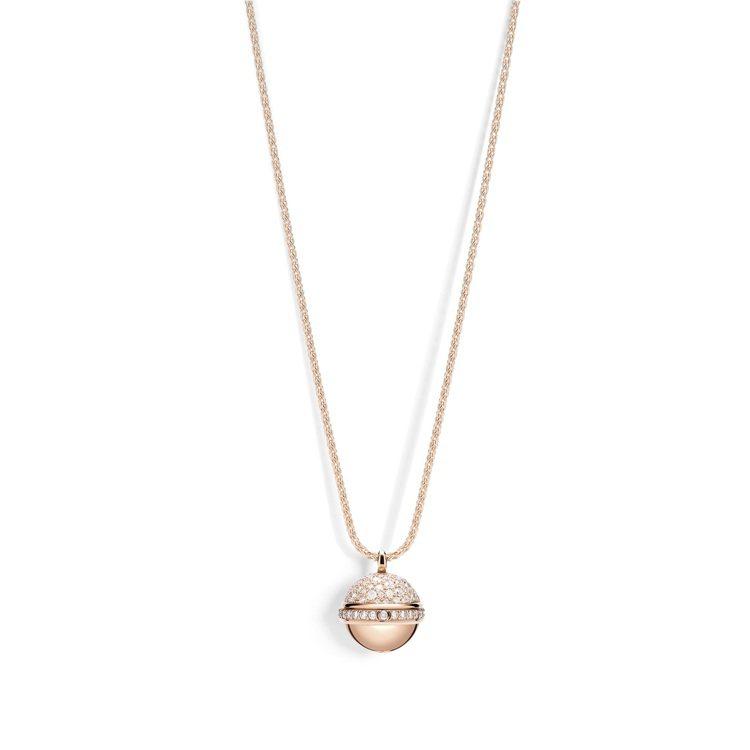 PIAGET Possession系列18K白金高級珠寶鑲鑽墜鍊,42萬4,00...