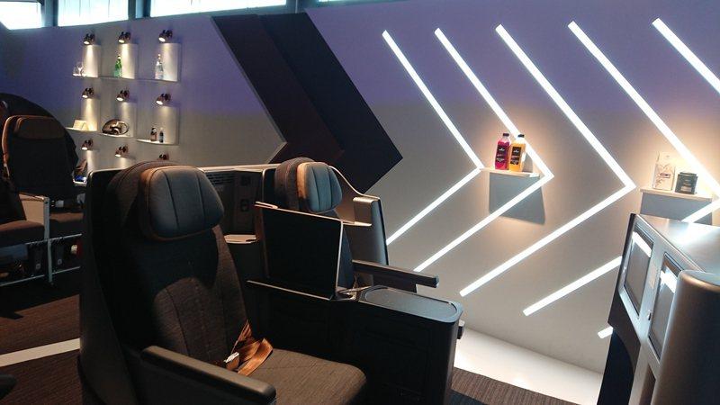 星宇航空新機商務艙內裝。記者黃淑惠/攝影