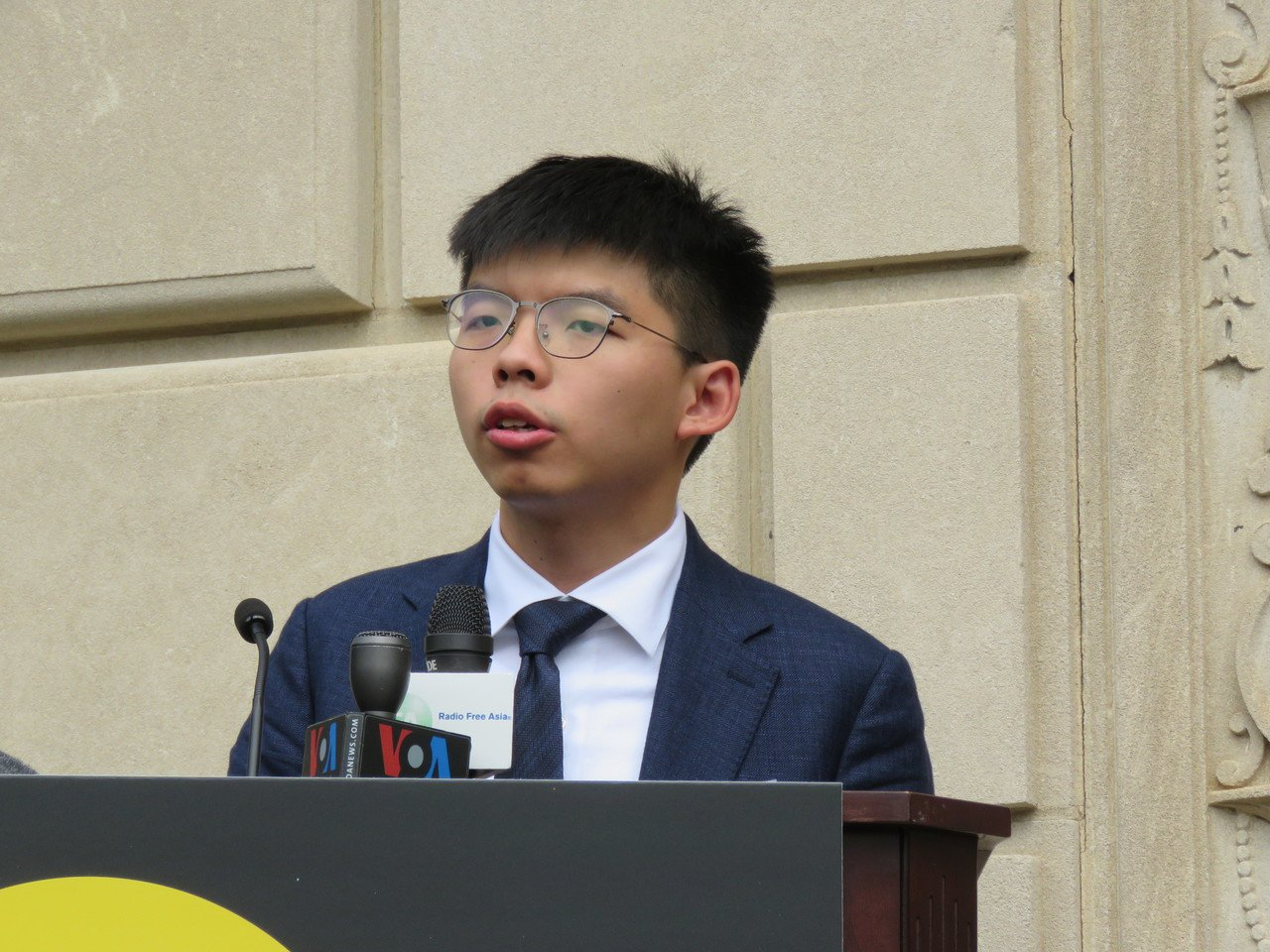香港眾志秘書長黃之鋒。本報系資料照片