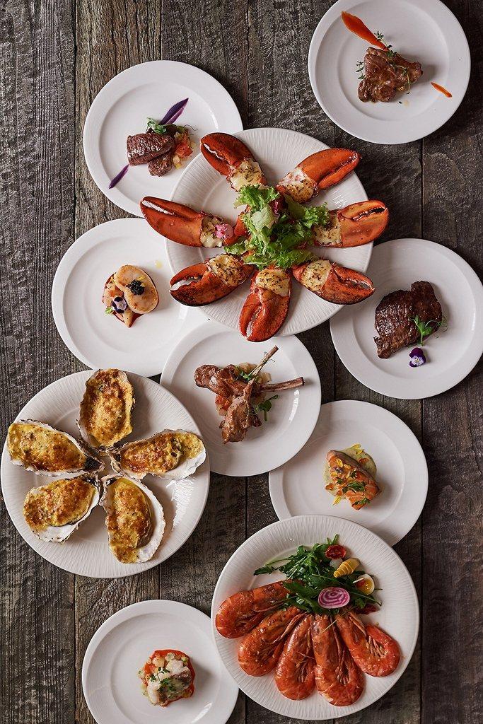 美福飯店彩匯自助餐主打各國料理。圖/美福飯店提供