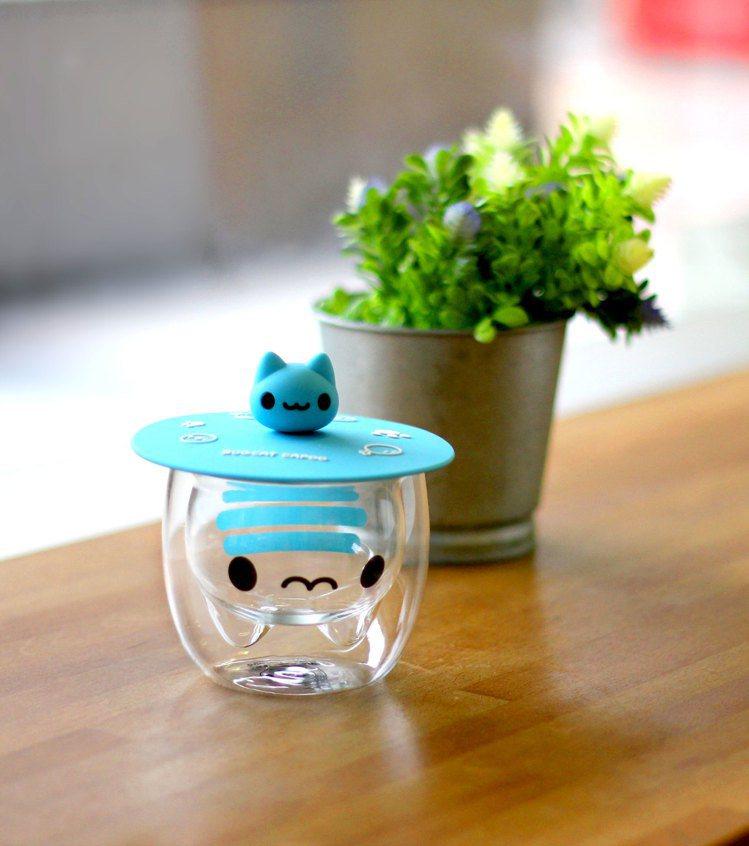 咖波矽膠杯蓋售價250元、咖波雙層隔熱玻璃杯售價490元,10月9日起7-ELE...