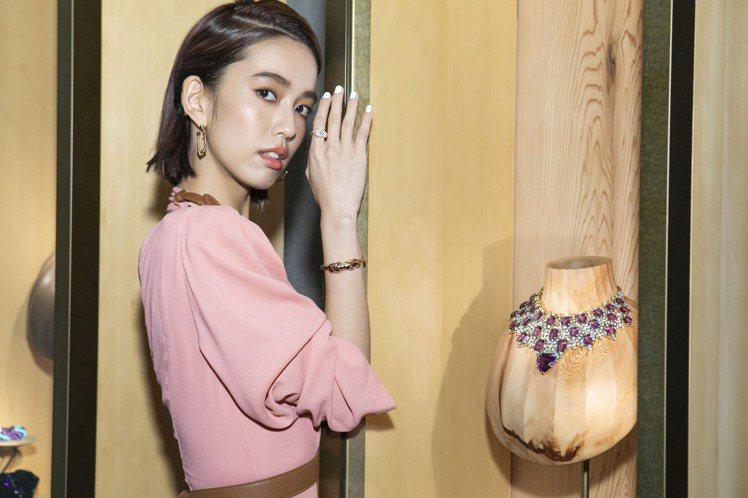 女星陳庭妮首次以卡地亞台灣區珠寶形象大使身份,參與東京特展,並演繹了招牌的美洲豹...