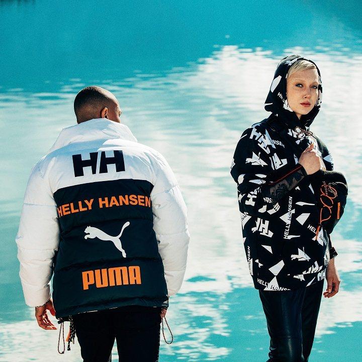 PUMA X HELLY HANSEN 聯名服飾系列。圖/PUMA提供