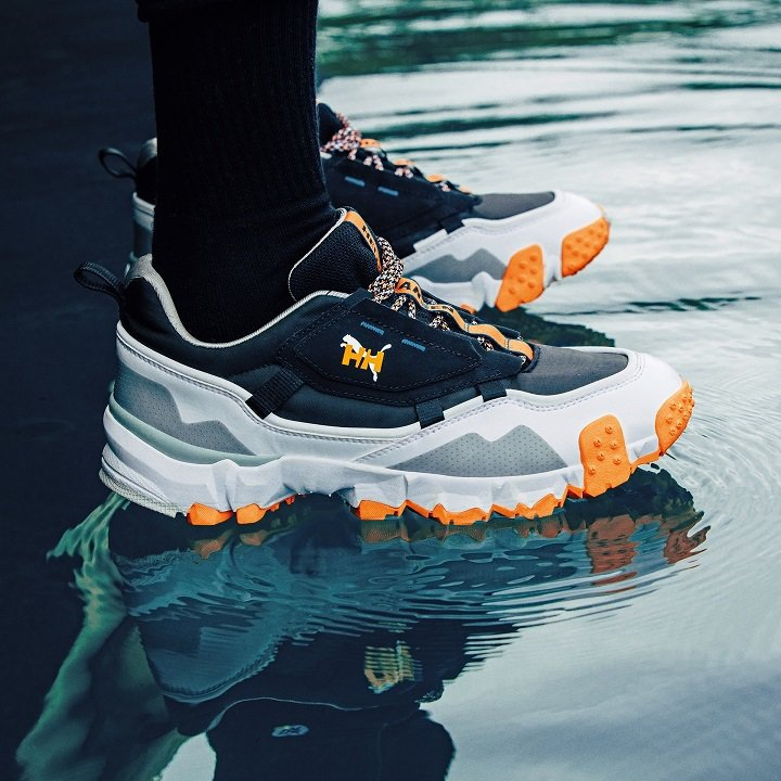 PUMA X HELLY HANSEN聯名系列Trailfox MTS鞋款,售價...