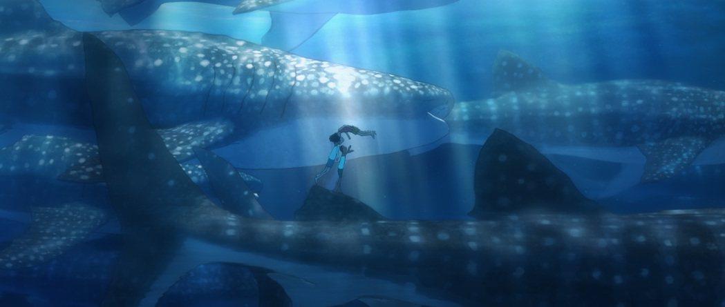 「海獸之子」9日在台上映。圖/甲上提供