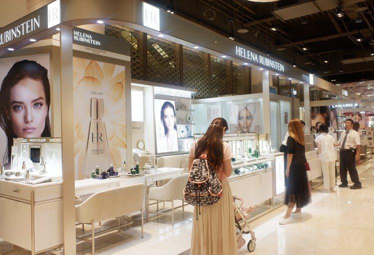 重返台灣的頂級保養Helena Rubinstein全台首店進駐新光三越信義A8...