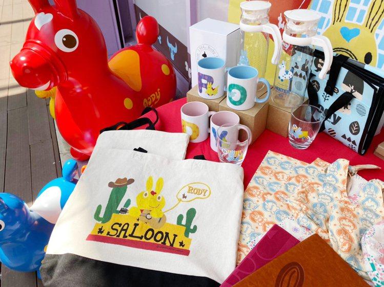 環球購物中心與「RODY跳跳馬」合作,推出獨家商品、快閃店及拍照打卡點。圖/環球...