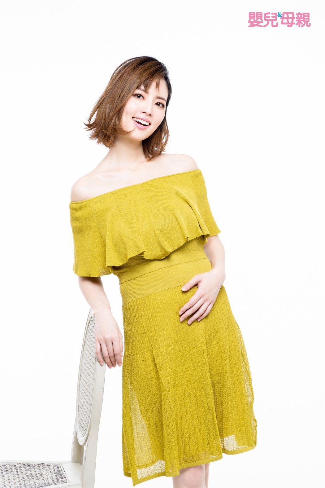 阿諾開心分享懷孕喜訊。圖/嬰兒與母親提供