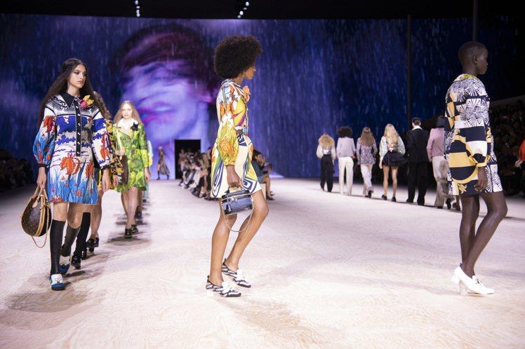 路易威登發表2020春夏女裝。圖/LV提供
