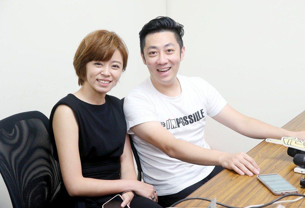 王瞳和艾成。圖/本報資料照片
