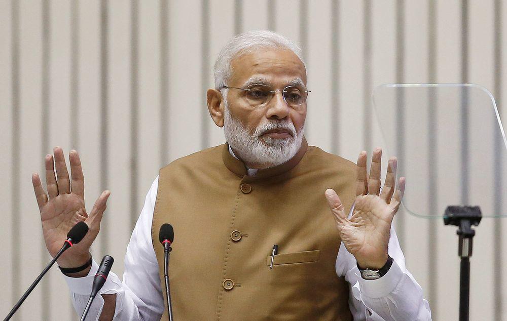 印度總理莫迪。(路透)