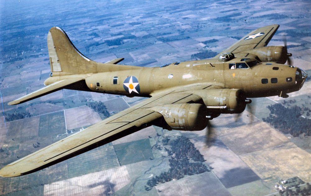 B-17E。圖/翻攝自維基百科