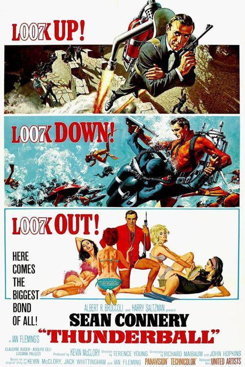 1965年007情報員電影「霹靂彈」海報。圖/翻攝自IMDB