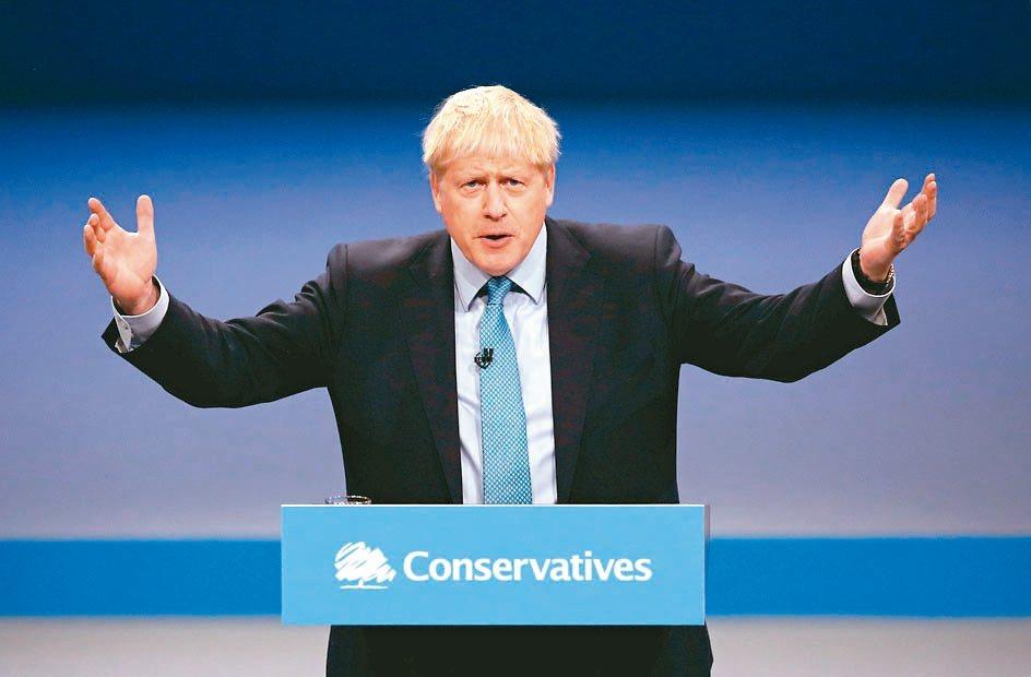 強森2日在保守黨年會上表示,若歐盟不願讓步,英國已做好四周內在無協議狀態下脫歐的...