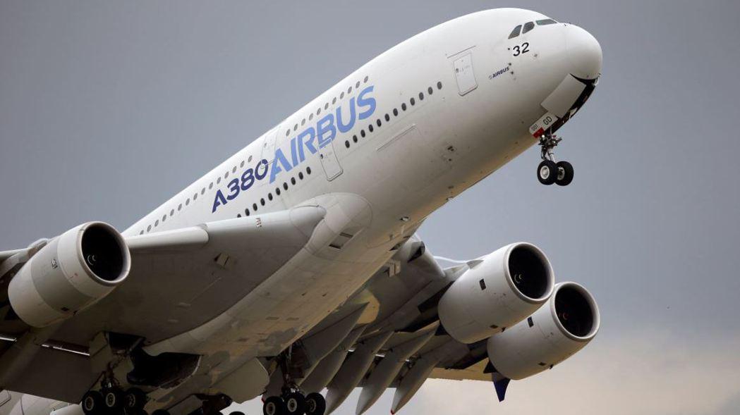 美國準備對空中巴士(Airbus)加徵10%關稅。 (美聯社)