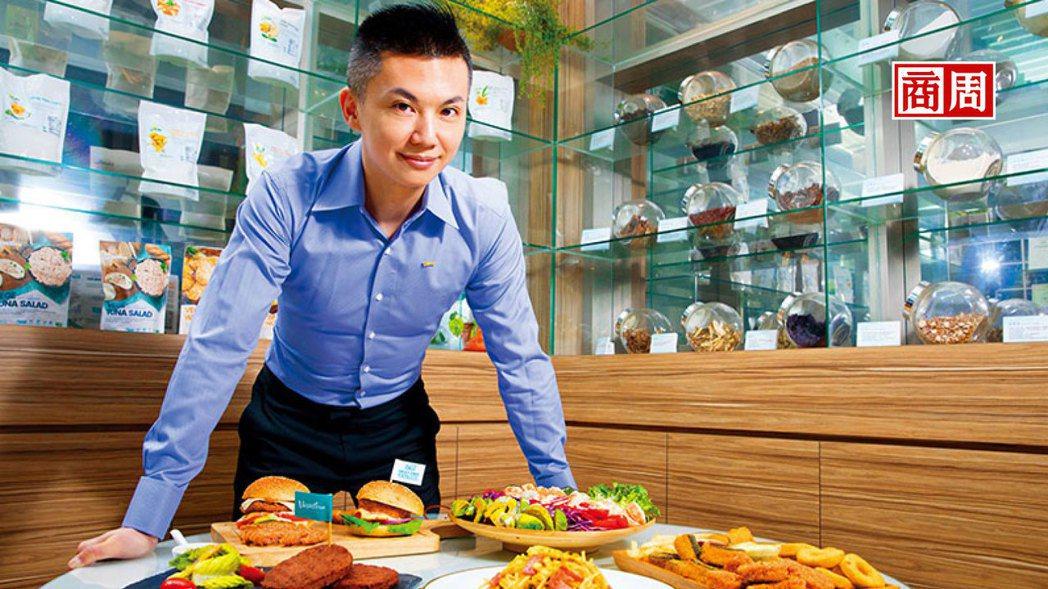 松珍素食執行長:陳俊毓。 圖/商業周刊提供