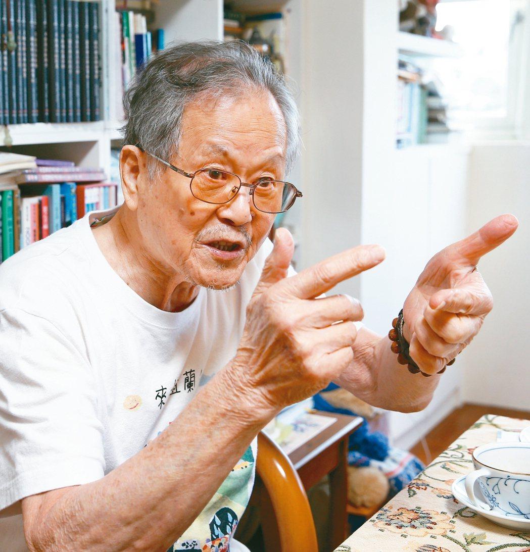 國寶級作家黃春明。 聯合報系資料照 記者蘇健忠/攝影