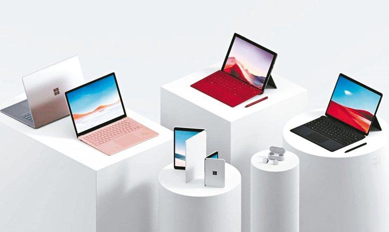 微軟在紐約舉辦新品發布會,發表Surface全新系列裝置。 圖/台灣微軟提供