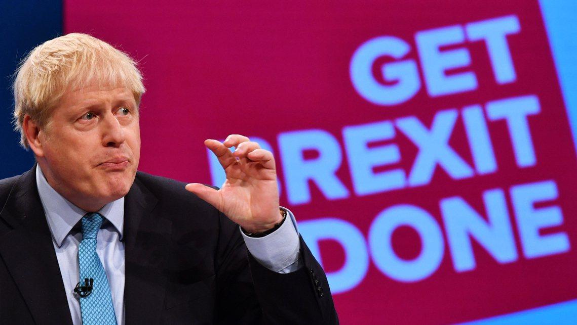 「一翻兩瞪眼!無論代價如何,10月31日英國必定會脫歐!」在保守黨大會上,強生也...