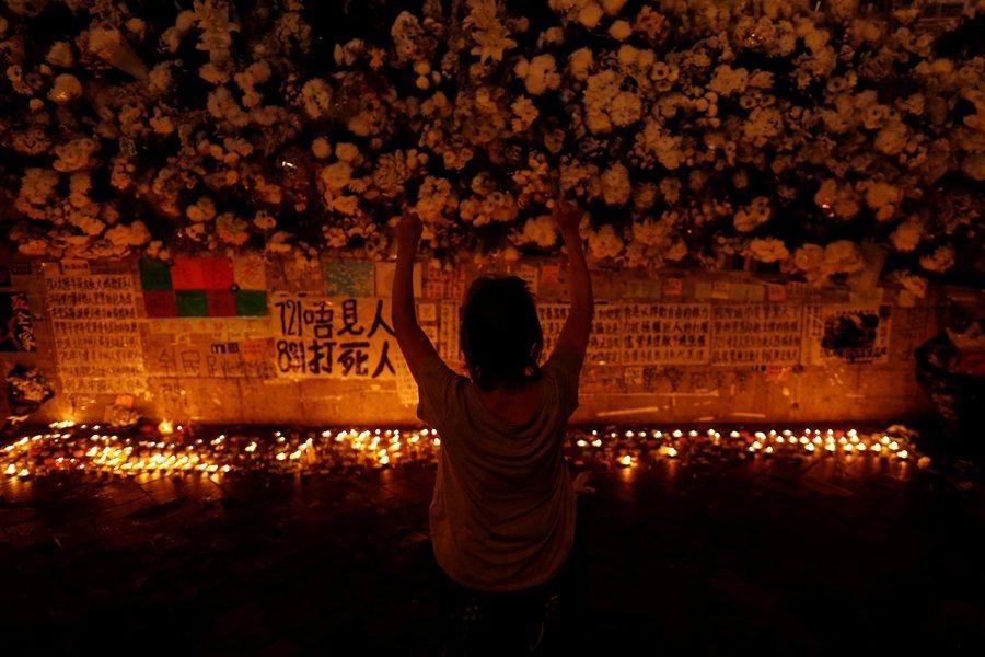 攝於9月25日,香港。 圖/路透社
