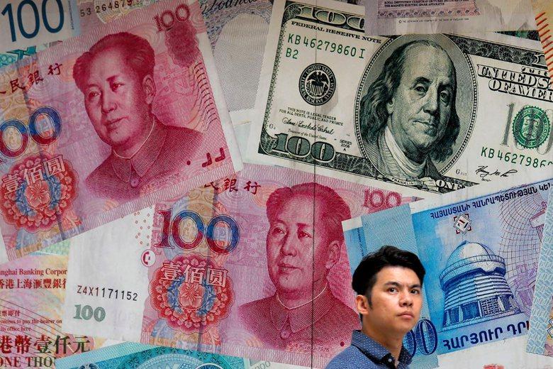 川普強調中國已經是全球第二大經濟體,不應犧牲他國利益佔便宜。 圖/美聯社
