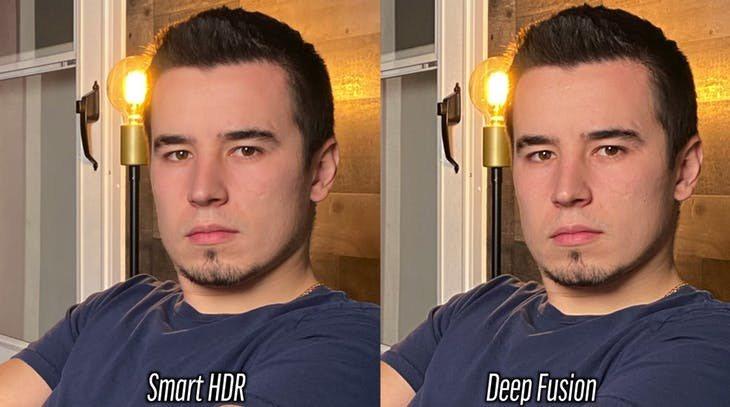 智慧 HDR 和深度融合的比較 Photo Credit:Max Tech Yo...