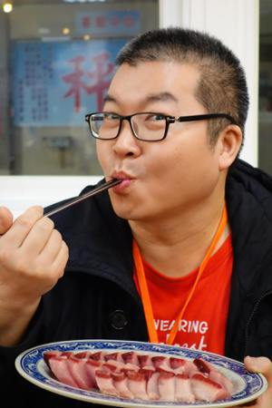 美食達人徐天麟。圖/截自徐天麟臉書