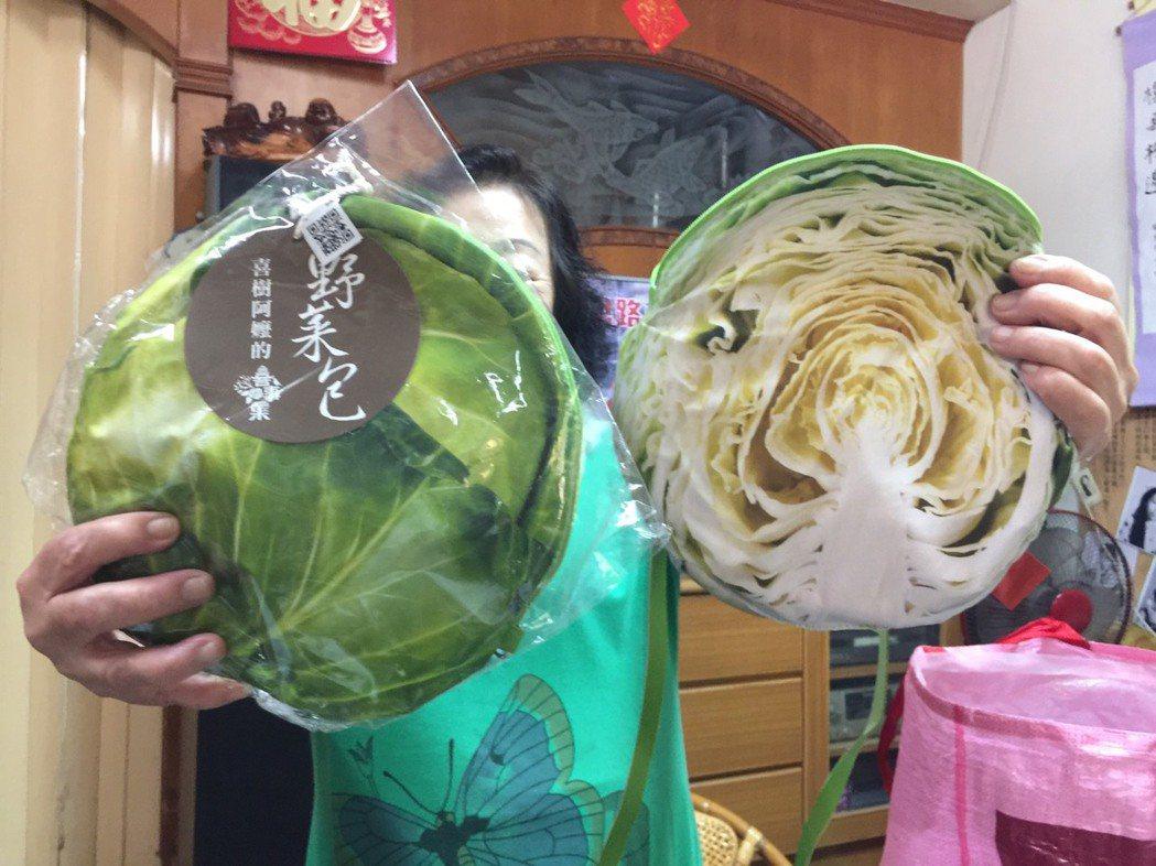 超市販賣的高麗菜。記者鄭維真/攝影