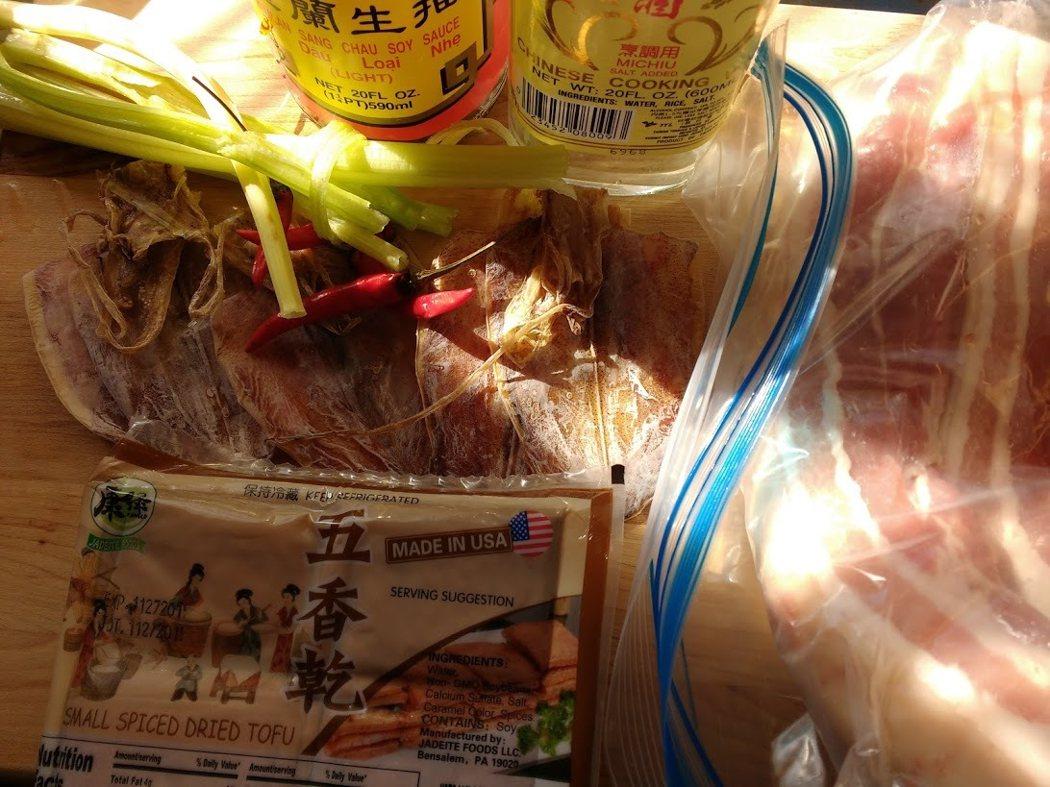 圖文:美國番媽【食譜】客家小炒