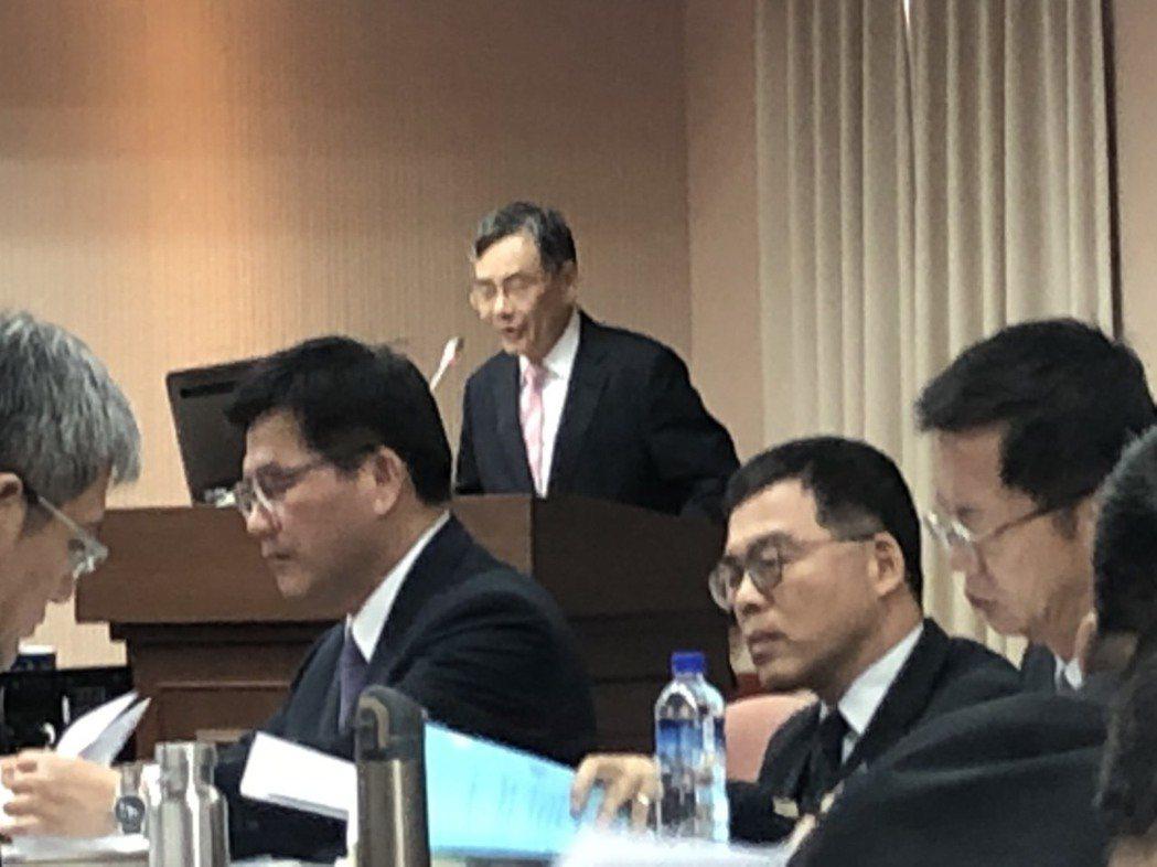 台灣港務公司董事長吳宗榮。 記者曹悅華/攝影