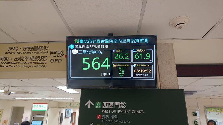 北市環保局今年邀集北市境內醫院討論全面設置空品自動監測設備,如今受列管的23處醫...