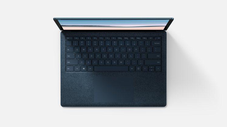 Surface Laptop 3推出砂岩金、鈷藍色等新色,還可選擇溫潤質感Alc...