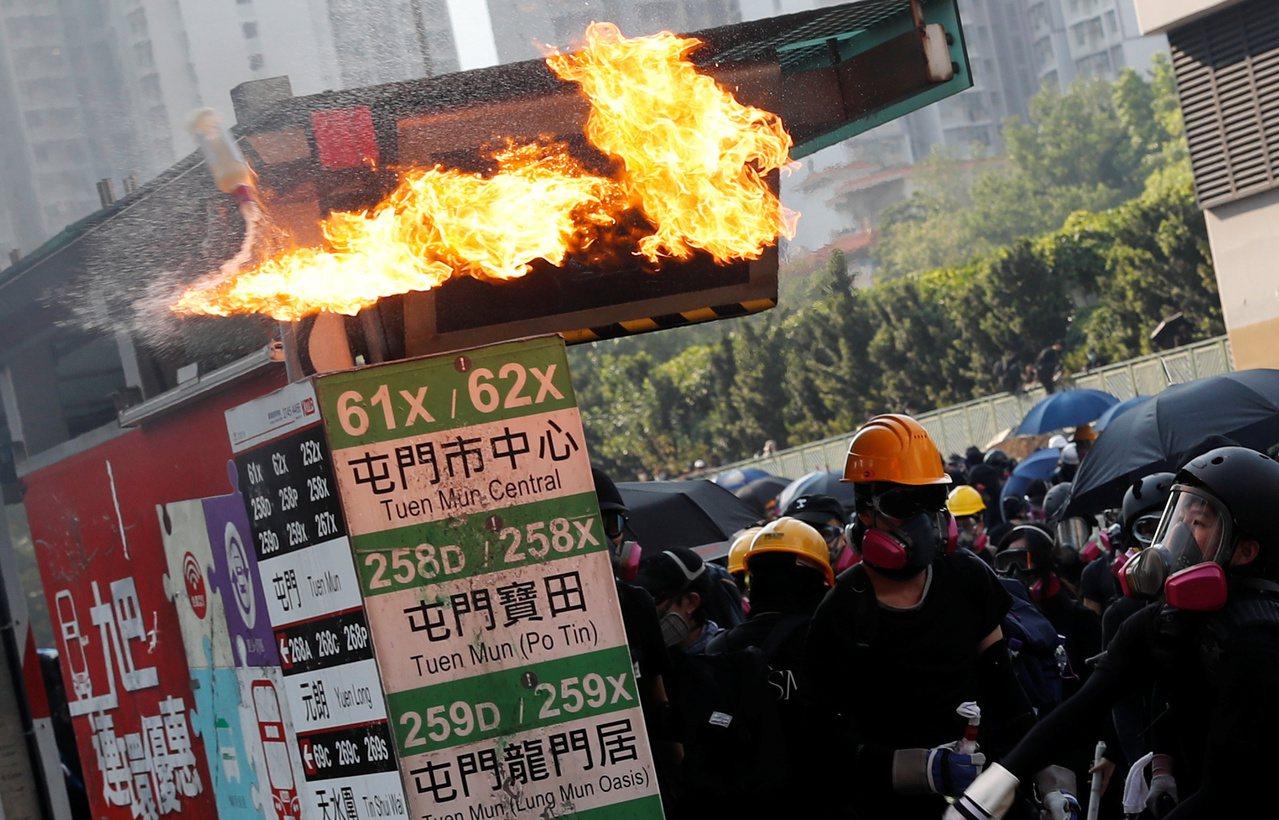 最近幾個月的抗議行動影響香港房地產。路透