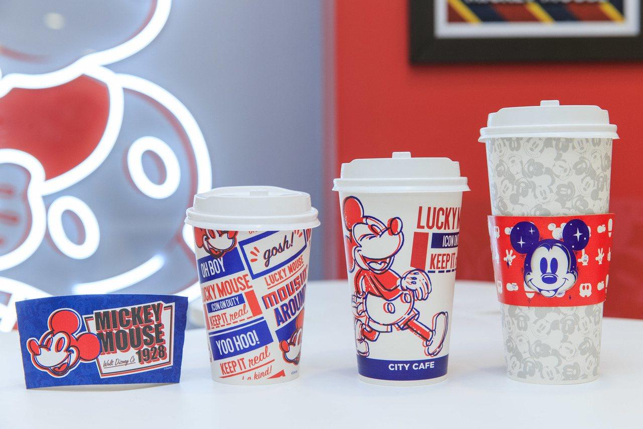 7-ELEVEN「米奇與好朋友主題店」CITY CAFE限定推出米奇造型限定咖啡...