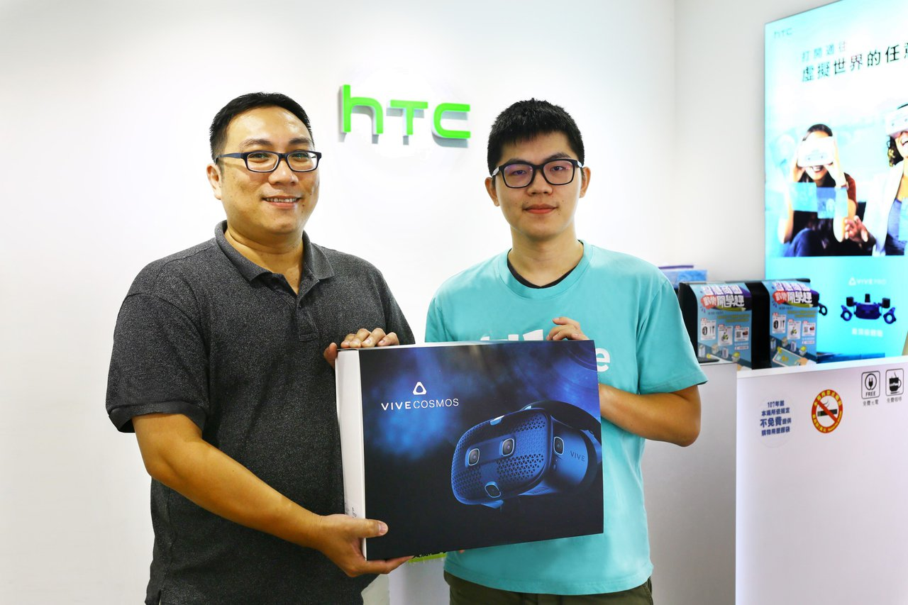 首波購買HTC VIVE Cosmos的消費者。圖/HTC提供