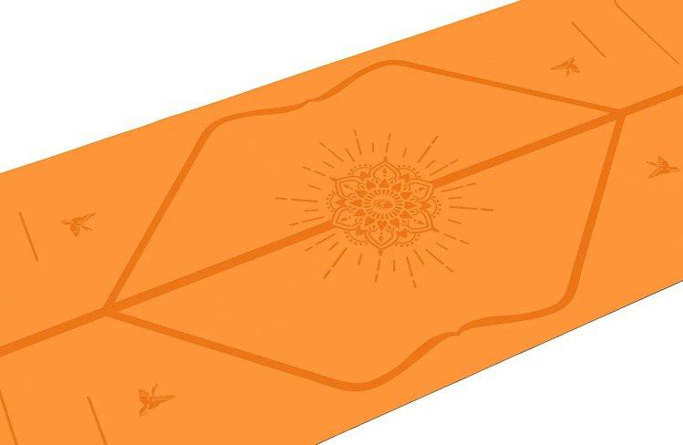 LIFORME快樂限定墊(亮麗橘),附專屬瑜珈袋,6,800元。圖/盈望實業提供